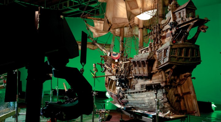 Aardman Set Visit: Pirates! In An Adventure With Scientists
