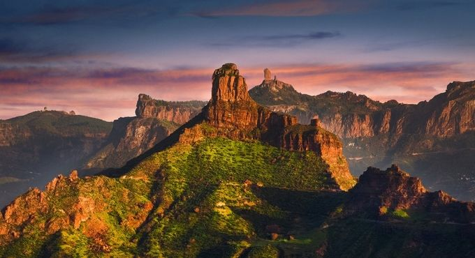 Roque Bentayga & Roque Nublo, Gran Canaria by alastairdixon