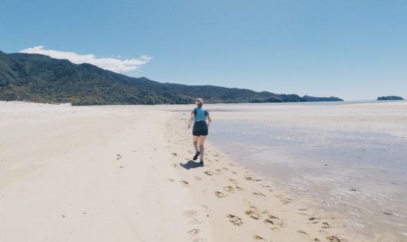 Trail Running in Abel Tasman, NZ